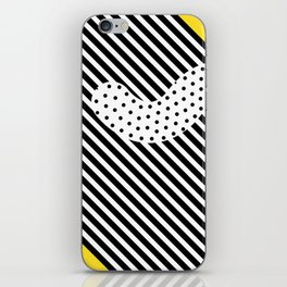 Memphis Design Pattern 6 iPhone Skin