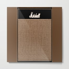 music amplifier Metal Print