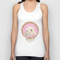 sprinkles Tank Tops featuring Sprinkles the Bunny by LarissaKathryn