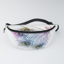 Peacock Dancer Fanny Pack