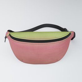 Watermelon Watercolor Ombre Abstract Fanny Pack