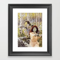 The Unknown Riders Back To Back Framed Art Print