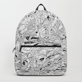 where I've been, in gray Backpack