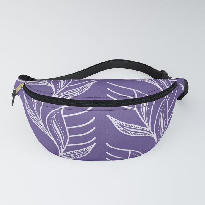 Ultraviolet Pattern #society6 #pattern #ultraviolet Fanny Pack