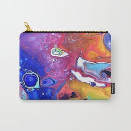 Wild and Crazy Art Flow Carry-All Pouch