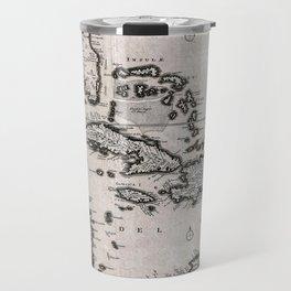 Vintage Americas Map Travel Mug