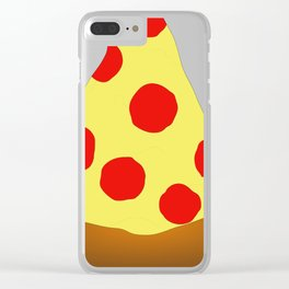 Pizza Pizza! Clear iPhone Case