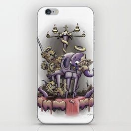 Cage Match iPhone Skin