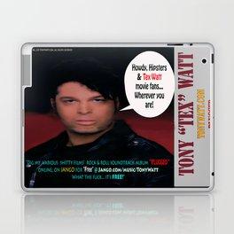 "The Tony 'Tex' Watt Jango Radio ""Plugged"" Album Poster Laptop & iPad Skin"