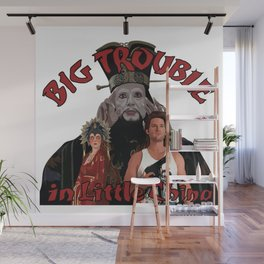 """Big Trouble"" Wall Mural"