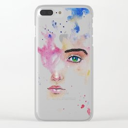 FaceFlow Clear iPhone Case