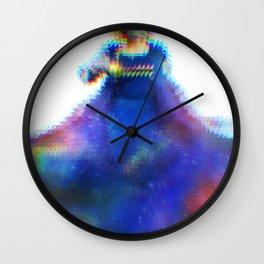 Pixelated Doctor Wall Clock