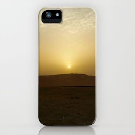 Judean Desert Sunrise  iPhone Case