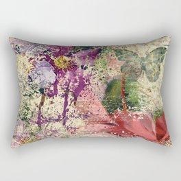 Garden shabby texture Rectangular Pillow