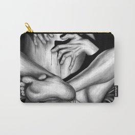 Passionate Love b&w Carry-All Pouch
