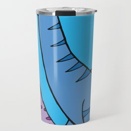 Before Time Began I (Blue) Travel Mug