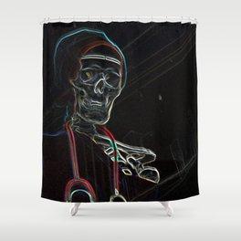 neon jnr dr Shower Curtain