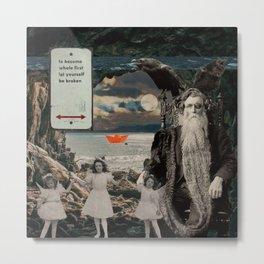 Odin in Neverland Metal Print