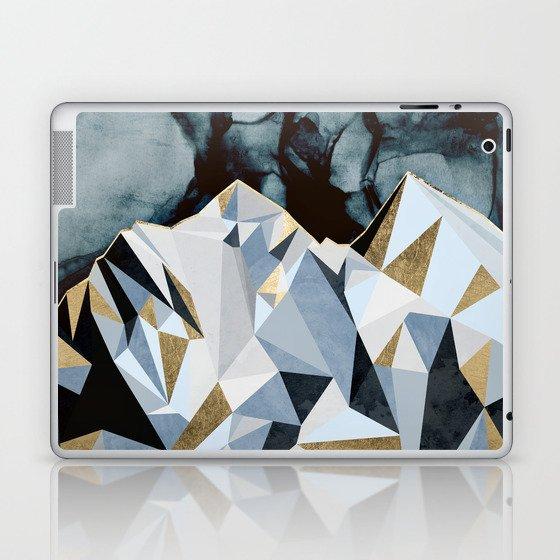 Midnight Peaks Laptop & iPad Skin