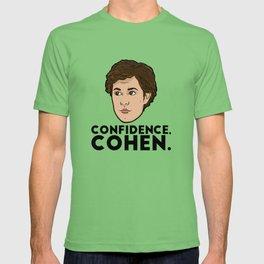 Confidence, Cohen T-shirt