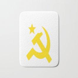 Communism Hammer Sickle Flag Bath Mat