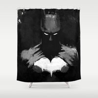 bats Shower Curtains featuring Bats by Scofield Designs