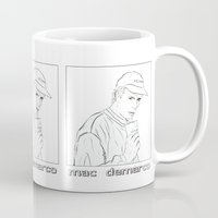 "mac Mugs featuring ""Mac Sippin"" by softmoon"