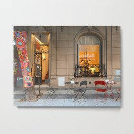 In Bocca al Lupo, Buenos Aires Metal Print