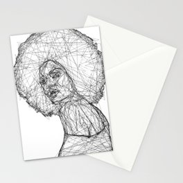 Black Mina Stationery Cards