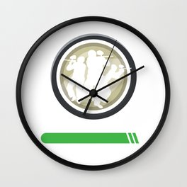 Paintball Skill Loading Paintball Player Gift Wall Clock