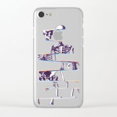 Skeleton Clear iPhone Case
