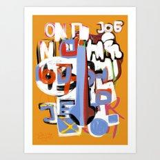 Nose Series 3 Art Print