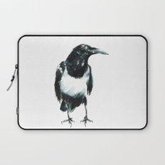 Pied Crow Laptop Sleeve