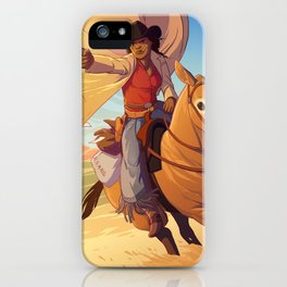 Stagecoach Mary iPhone Case