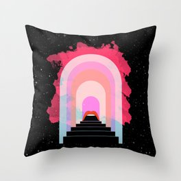 Space Cruise Throw Pillow