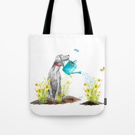 DAFFODILS AND WEIM Tote Bag