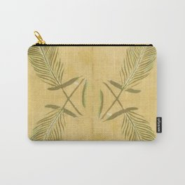 Full Peacock Feathers Carry-All Pouch