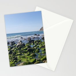 Mansion Beach Stationery Cards