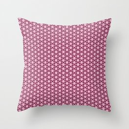 Fractal Lace Throw Pillow