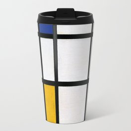 Piet Mondrian Composition in Red, Blue,and Yellow Travel Mug