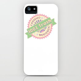 trash iPhone Case