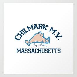 ChilMark, Cape Cod Art Print