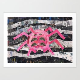 On spiders from Mars Art Print