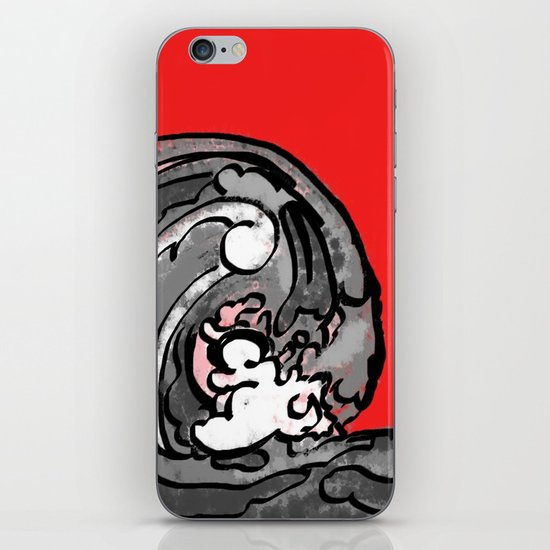 Smile and Wave  iPhone & iPod Skin