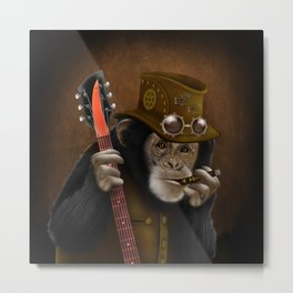 Rockers of the apes iPhone 4 4s 5 5c 6 7, pillow case, mugs and tshirt Metal Print