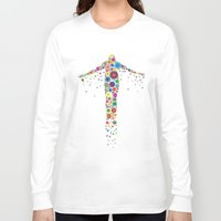 philippines Long Sleeve T-shirts featuring Oblation Flowers by MUSENYO