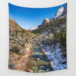 Virgin_River 4764 - Canyon Junction Zion Wall Tapestry