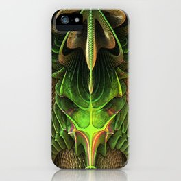 Alien Life Form iPhone Case
