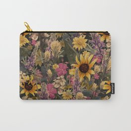 Palouse Region Wildflowers Carry-All Pouch
