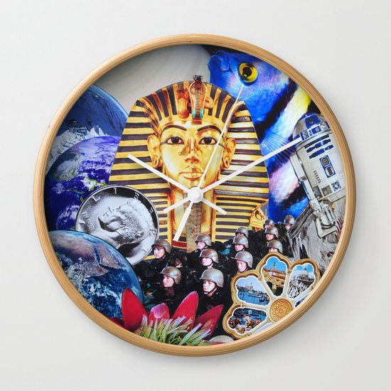 Modern Nature Wall Clock